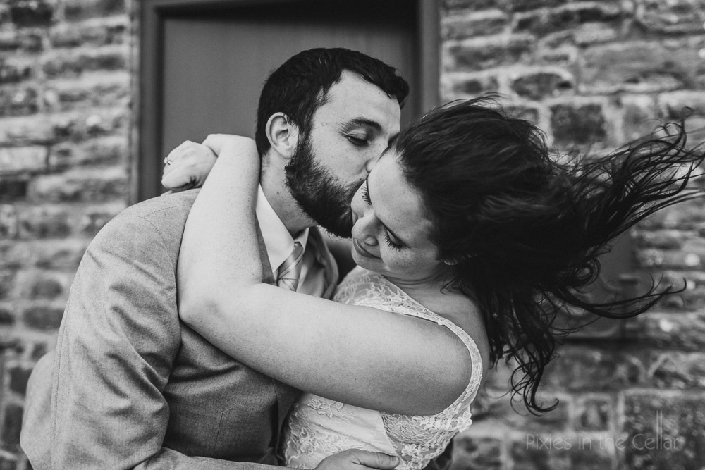 first look wedding elopement