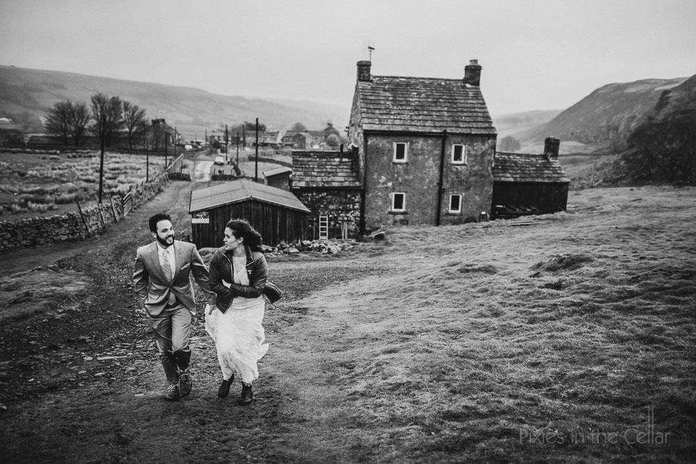 North Pennines US couple elope