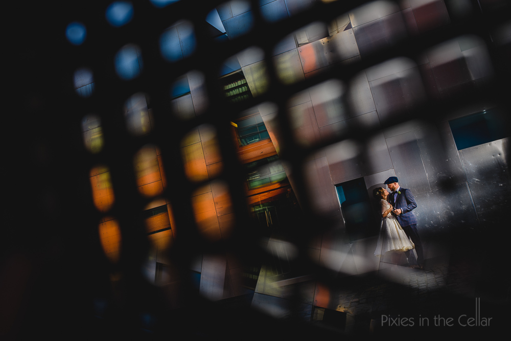 best urban Manchester wedding photo