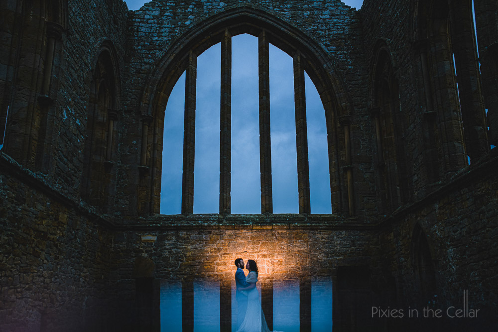 creative modern elopement photography