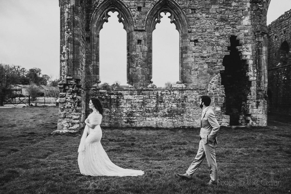 Abbey wedding photography England