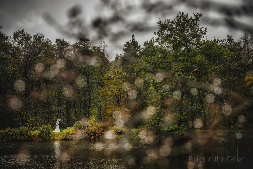 best rainy wedding England autumn