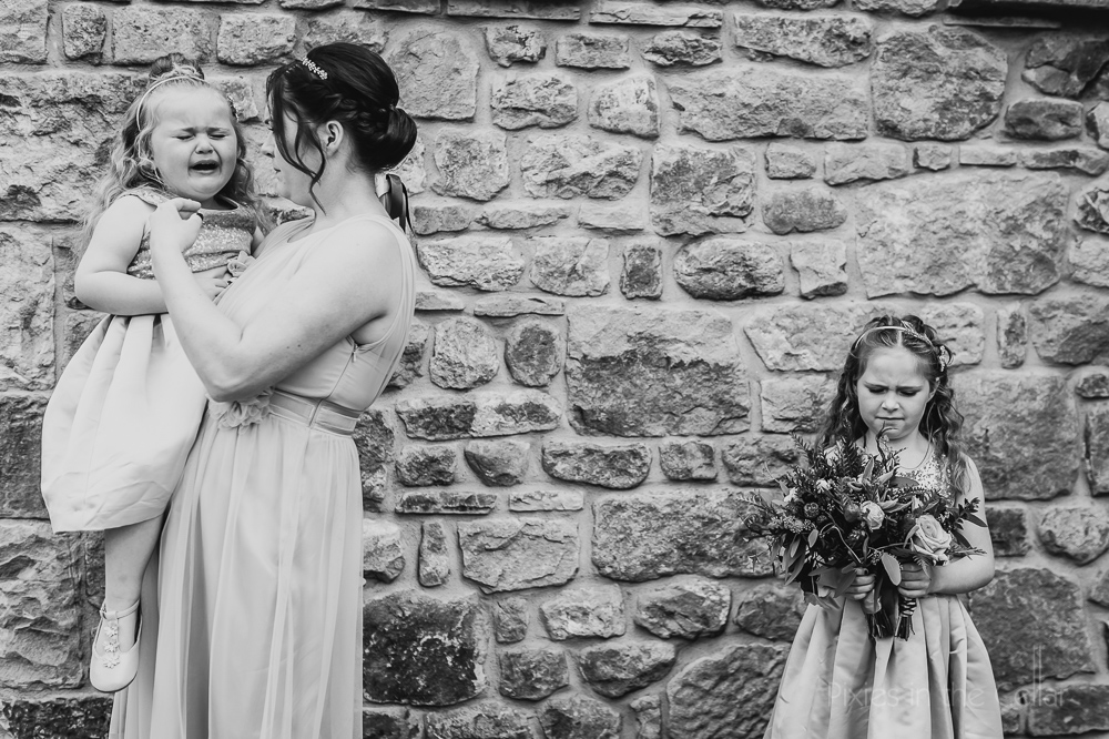 children at weddings honest emotion