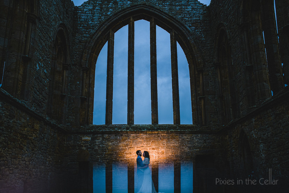 UK abbey wedding photography