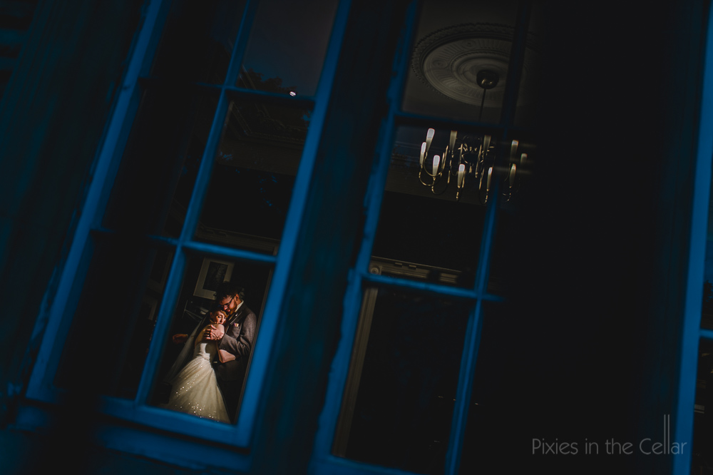 Love from outside in blue framed UK creative photographers