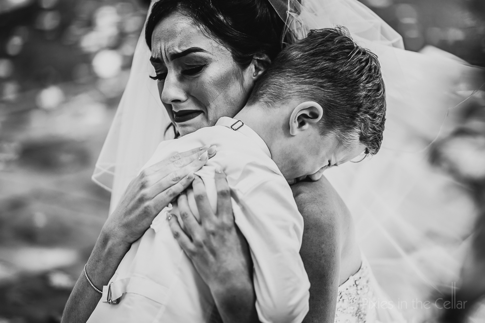 real wedding emotion pure documentary photo bride son