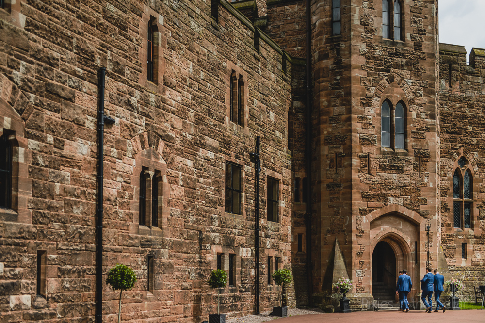 Peckforton Castle wedding groomsmen