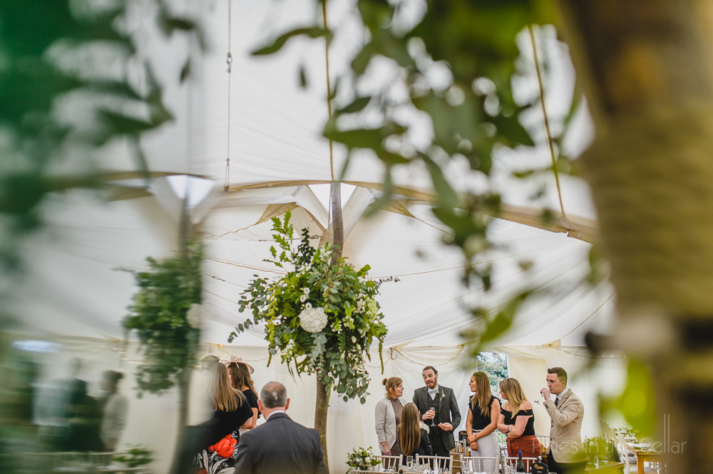 Marquee yurt rustic wedding