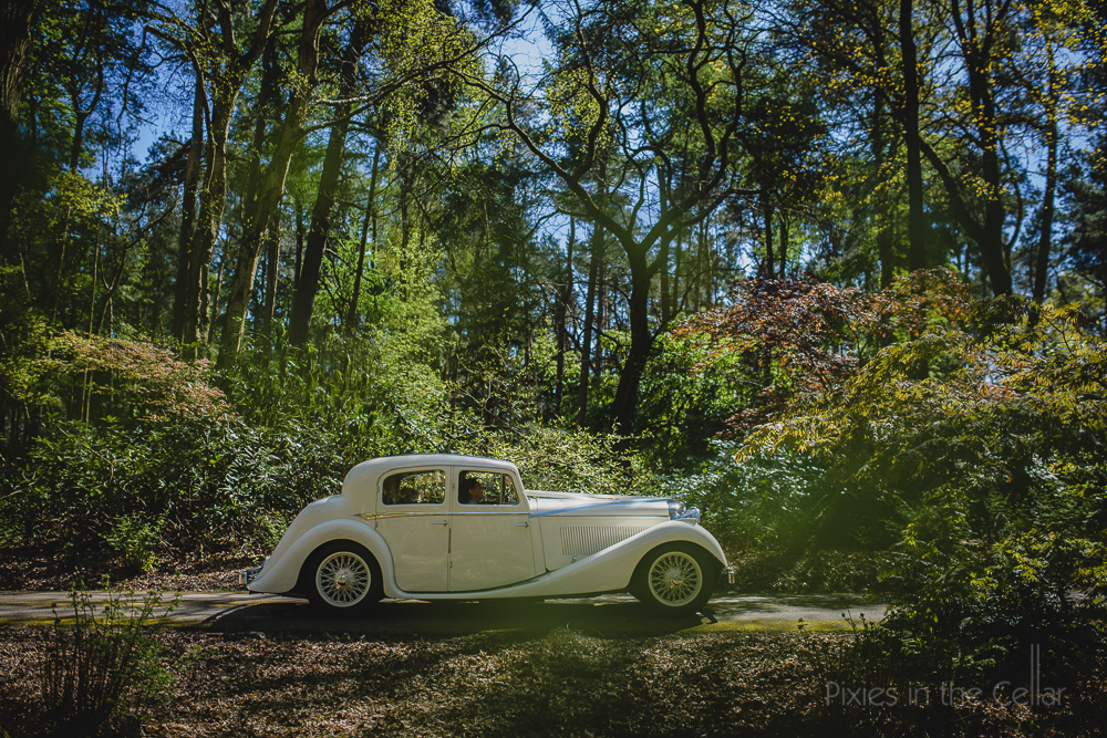 delamere forest wedding car