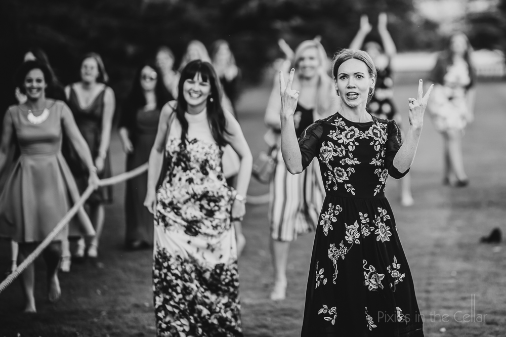 expressive wedding guests