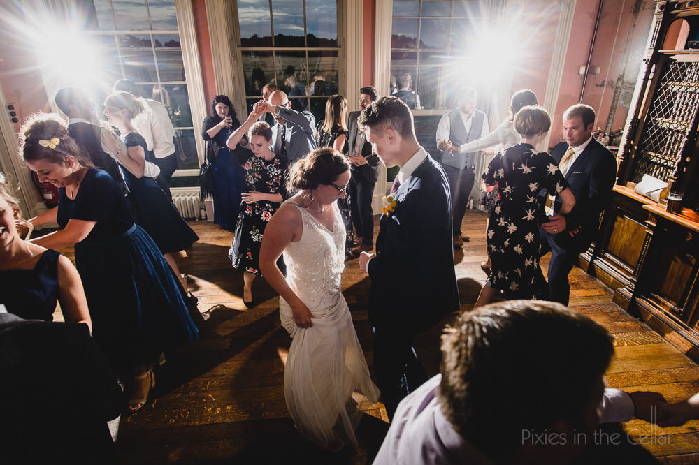 Prestwold Hall dancing wedding