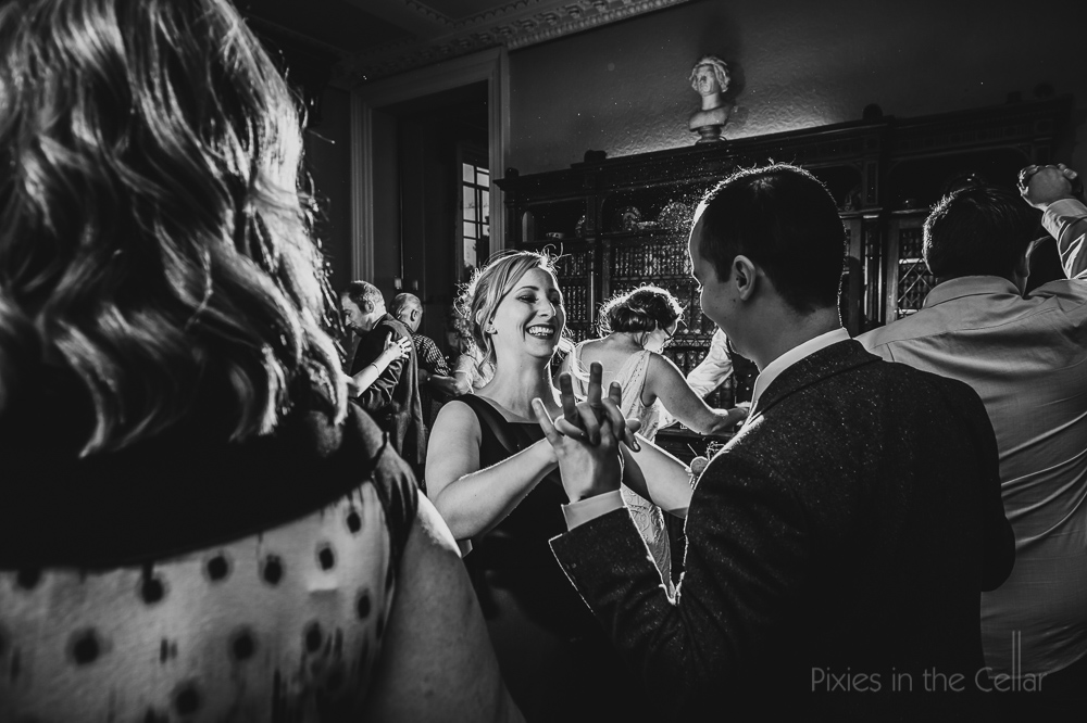 dancing wedding stately home uk photo