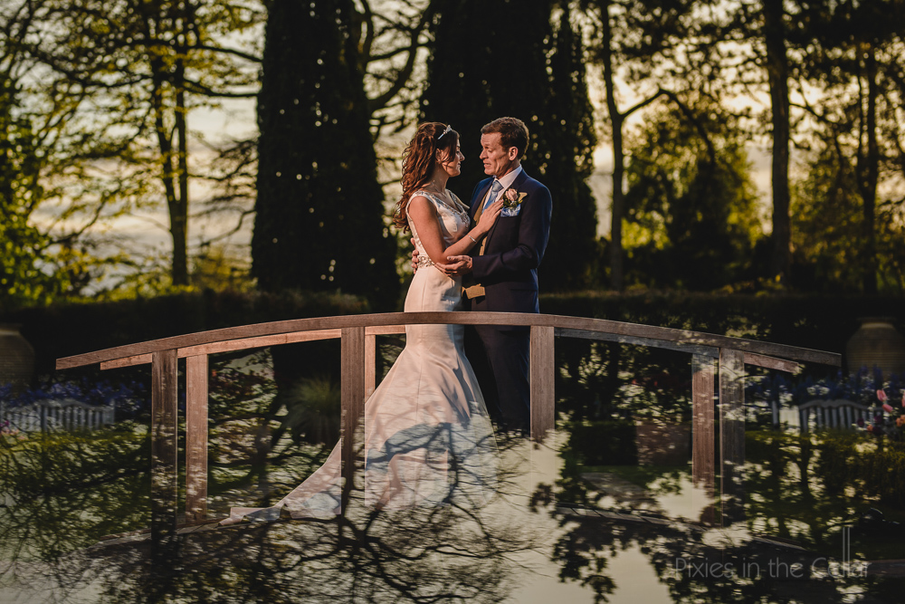 Abbeywood Estate Wedding Photography bridge