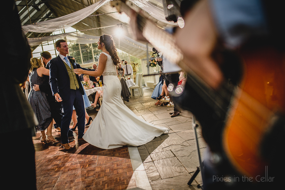 Abbeywood Estate Wedding Photography dancing
