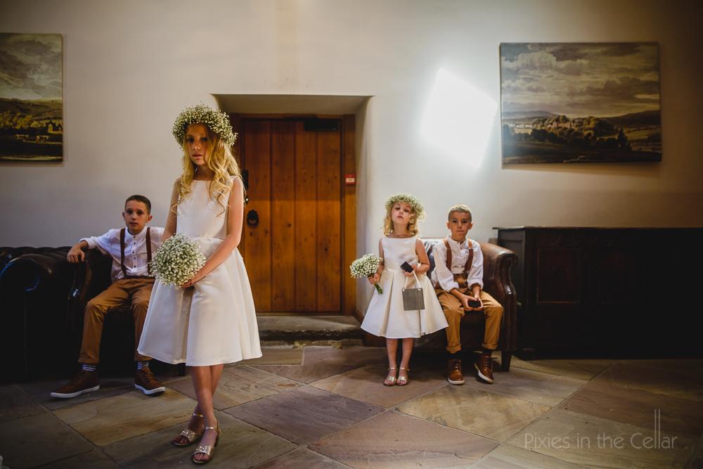 Family wedding photography uk
