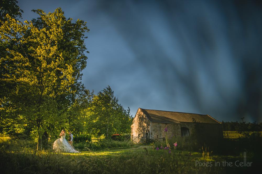 English summer countryside wedding