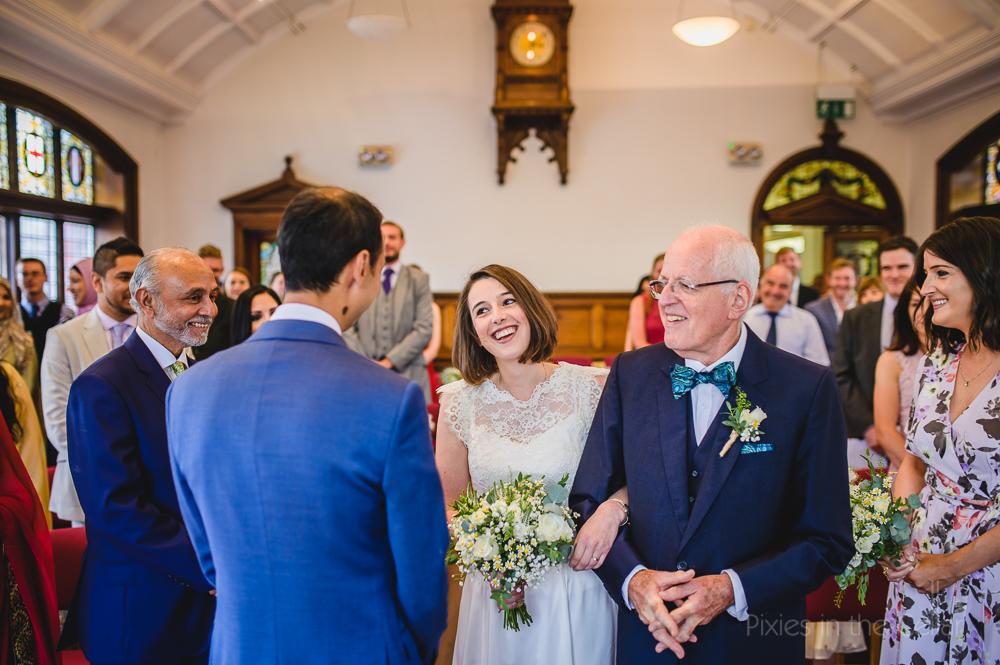 town hall wedding ceremony UK