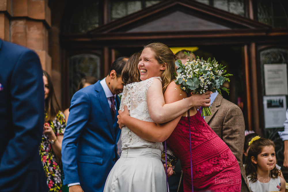 wedding guests altrincham wedding photography