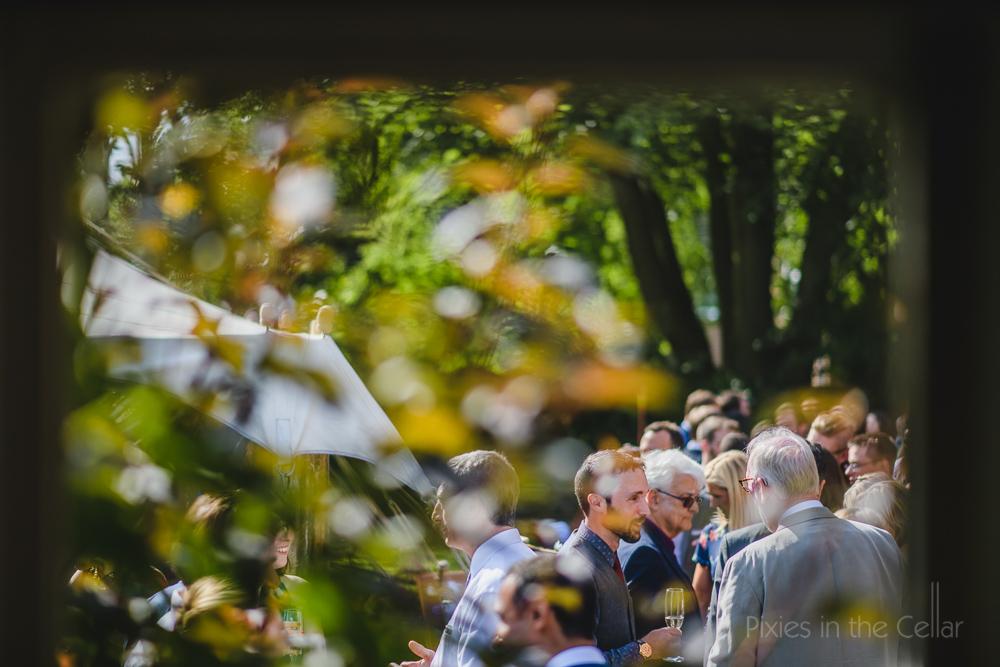 English garden party wedding photography Cheshire