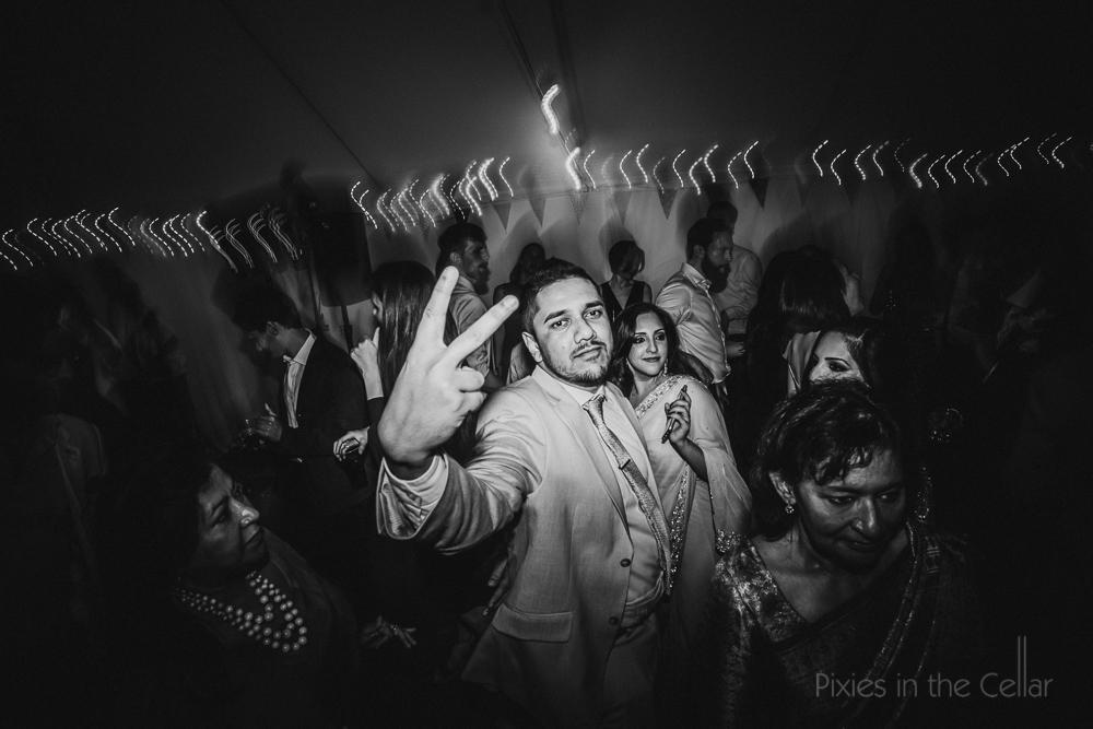 altrincham wedding photography evening party