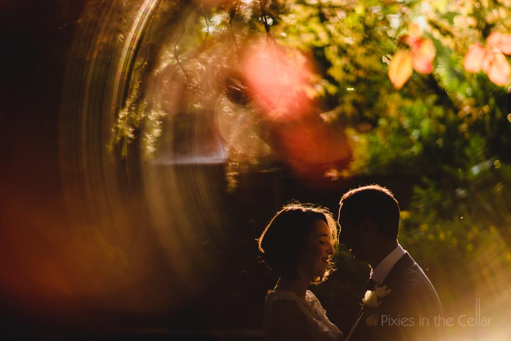 Manchester wedding photographers summer sunset