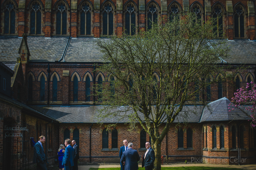 gorton Monastery wedding photographers