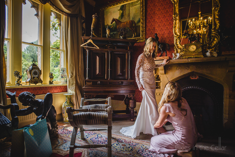 Country Manor wedding England