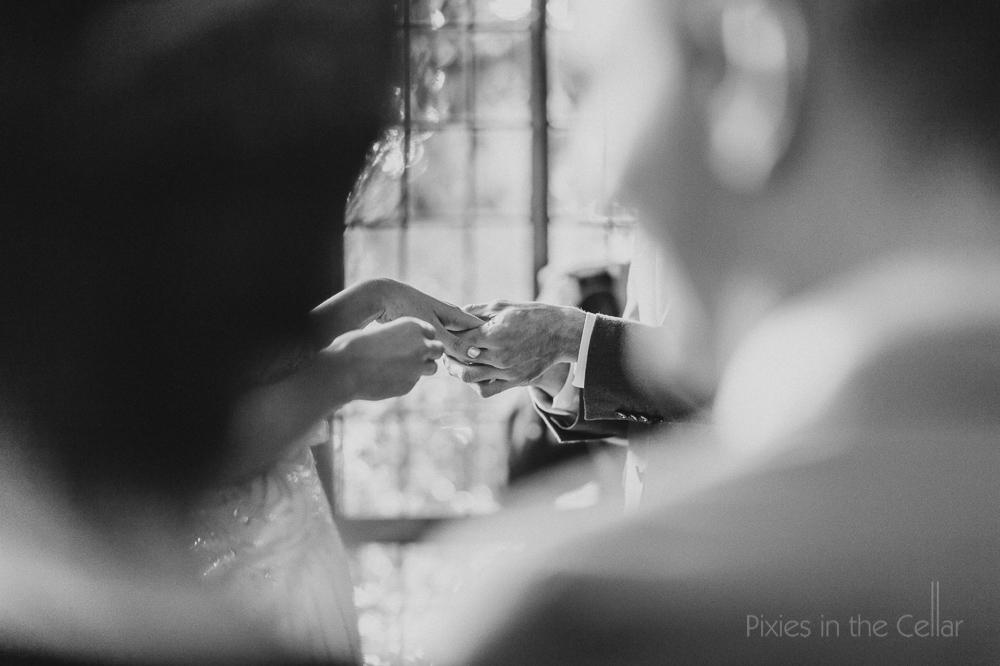 exchange of rings wedding ceremony