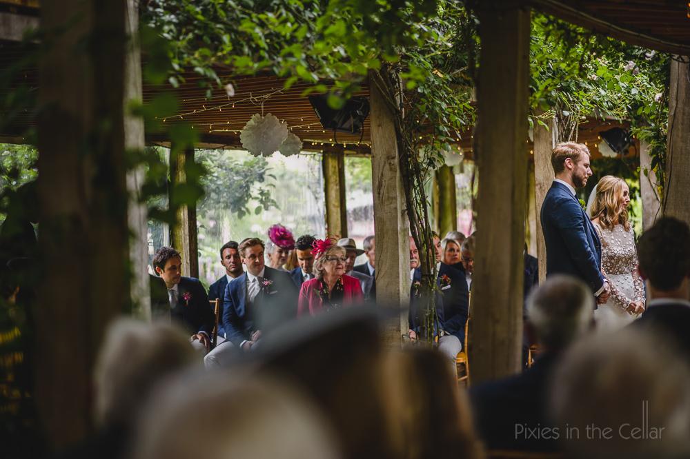 English outdoor wedding venue