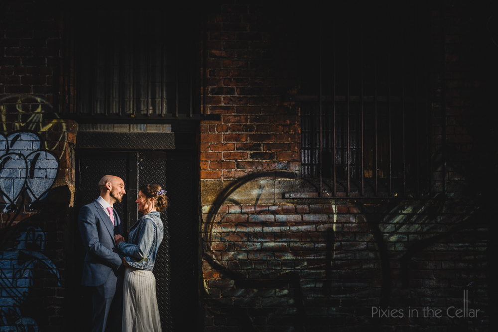 Northern Quarter wedding photography