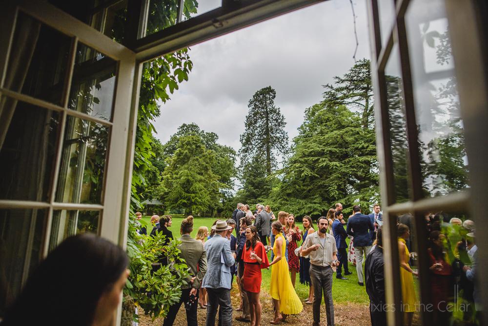 Maunsel House wedding reception