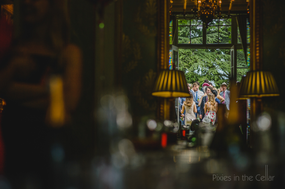 Pixies in the cellar documentary wedding photography