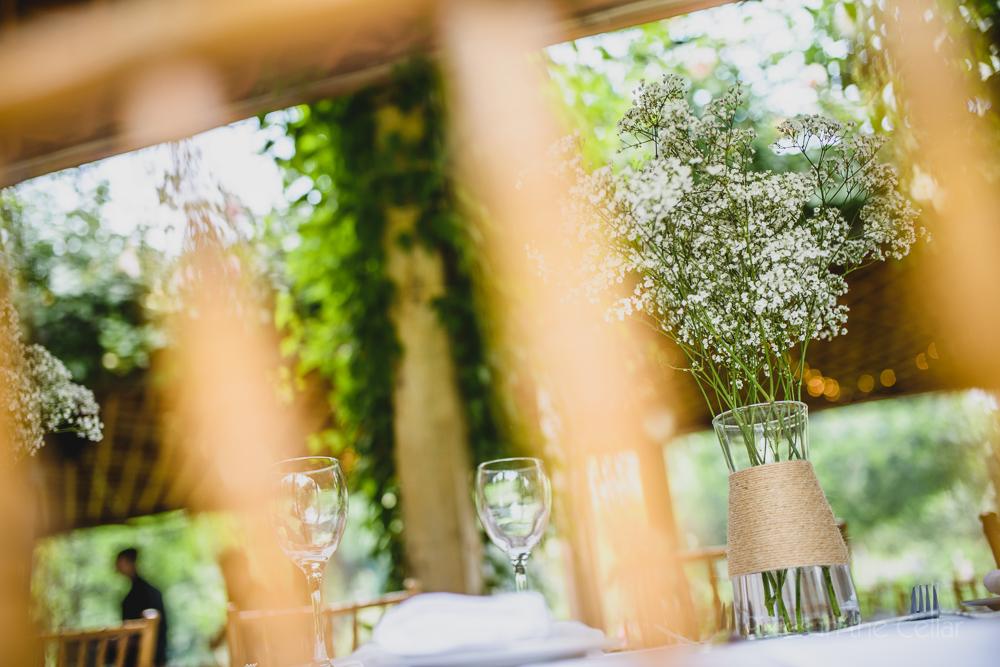 gypsophila simple wedding details