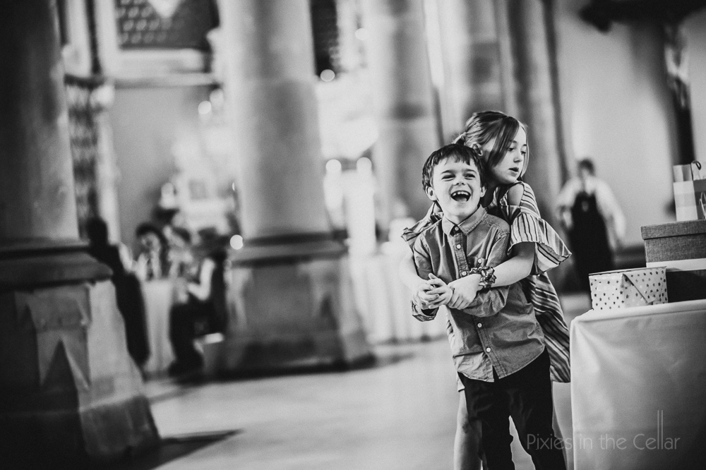 wedding kids playing manchester