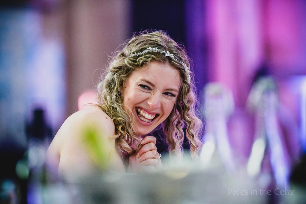 happy bride uk wedding