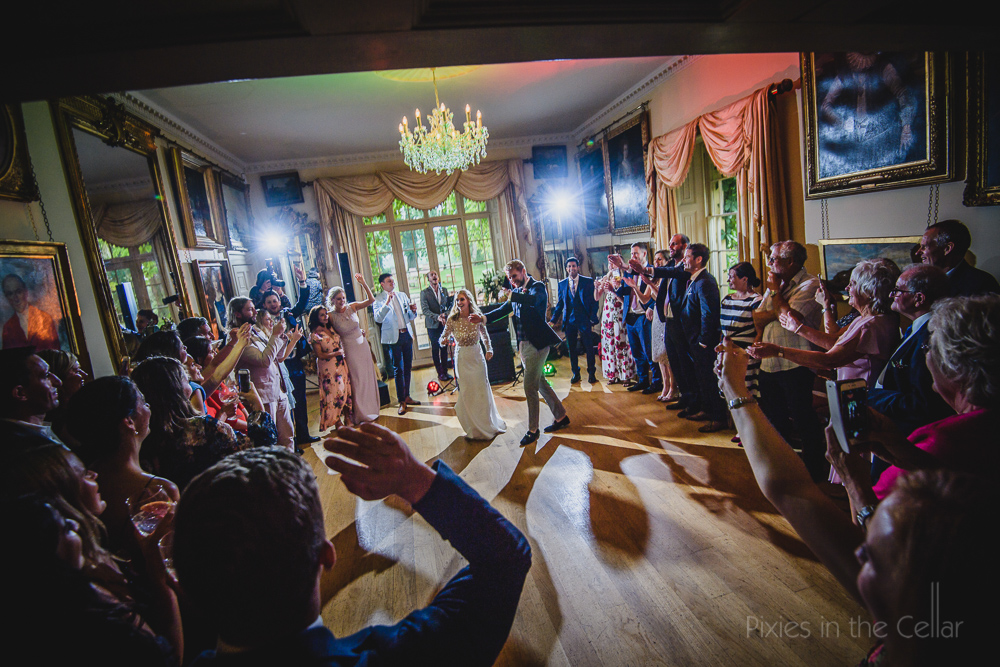 Country House first dance UK wedding