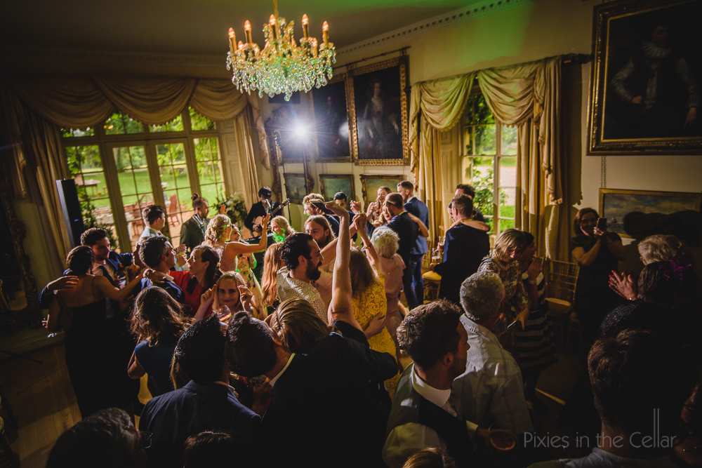 Maunsel House wedding party
