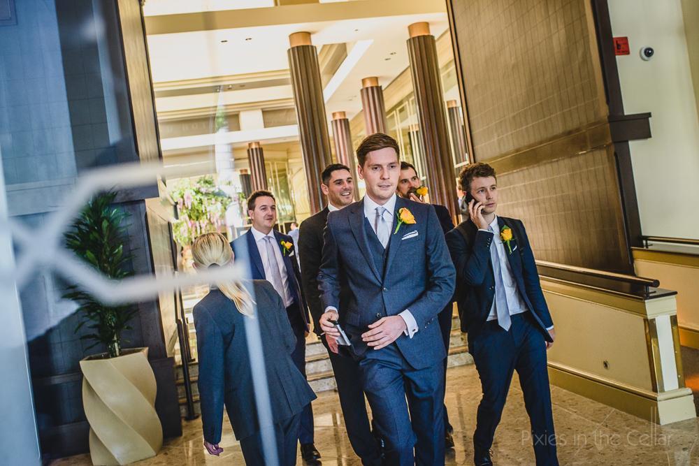 groomsmen Manchester wedding