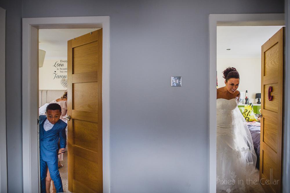 decisive moment wedding photo