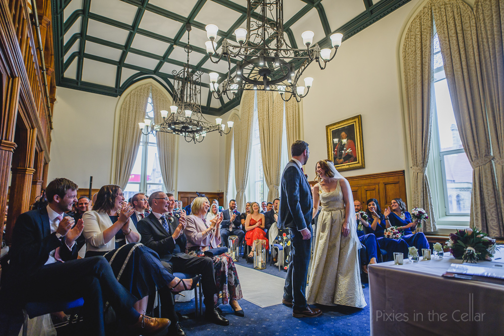 Whitworth chambers Manchester wedding
