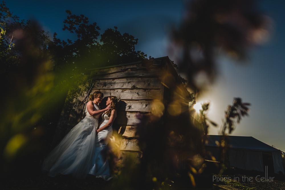 same sex wedding cheshire brides