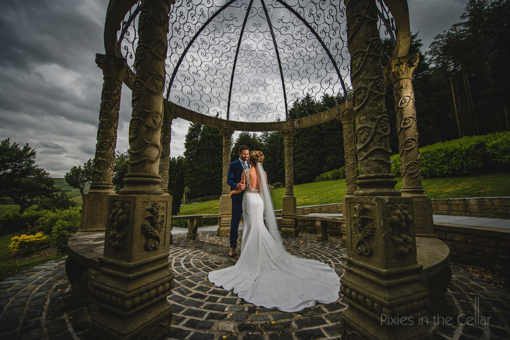 wedding dress gazebo