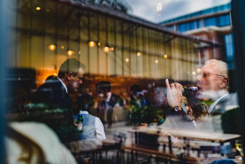 wedding reception reflections Altrincham