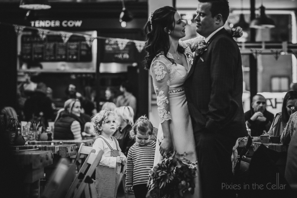 inquisitive children real wedding moments