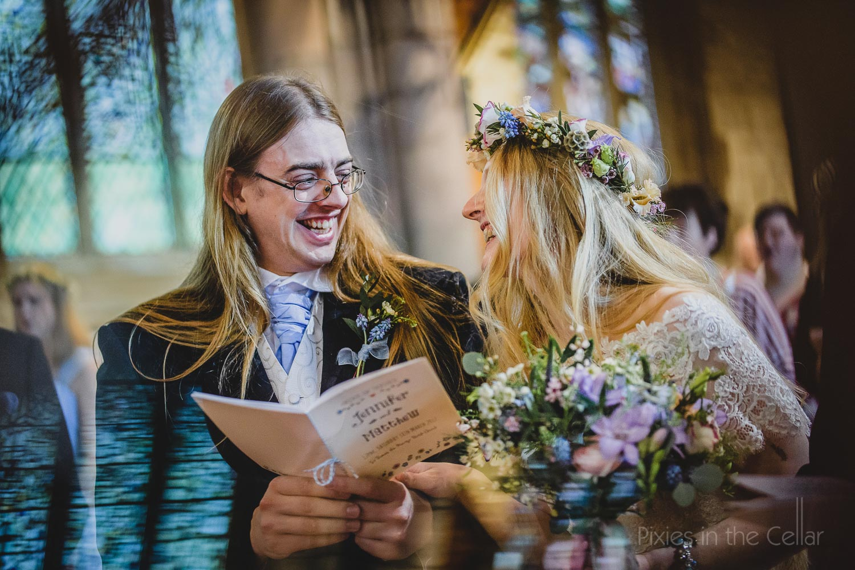 alternative church wedding