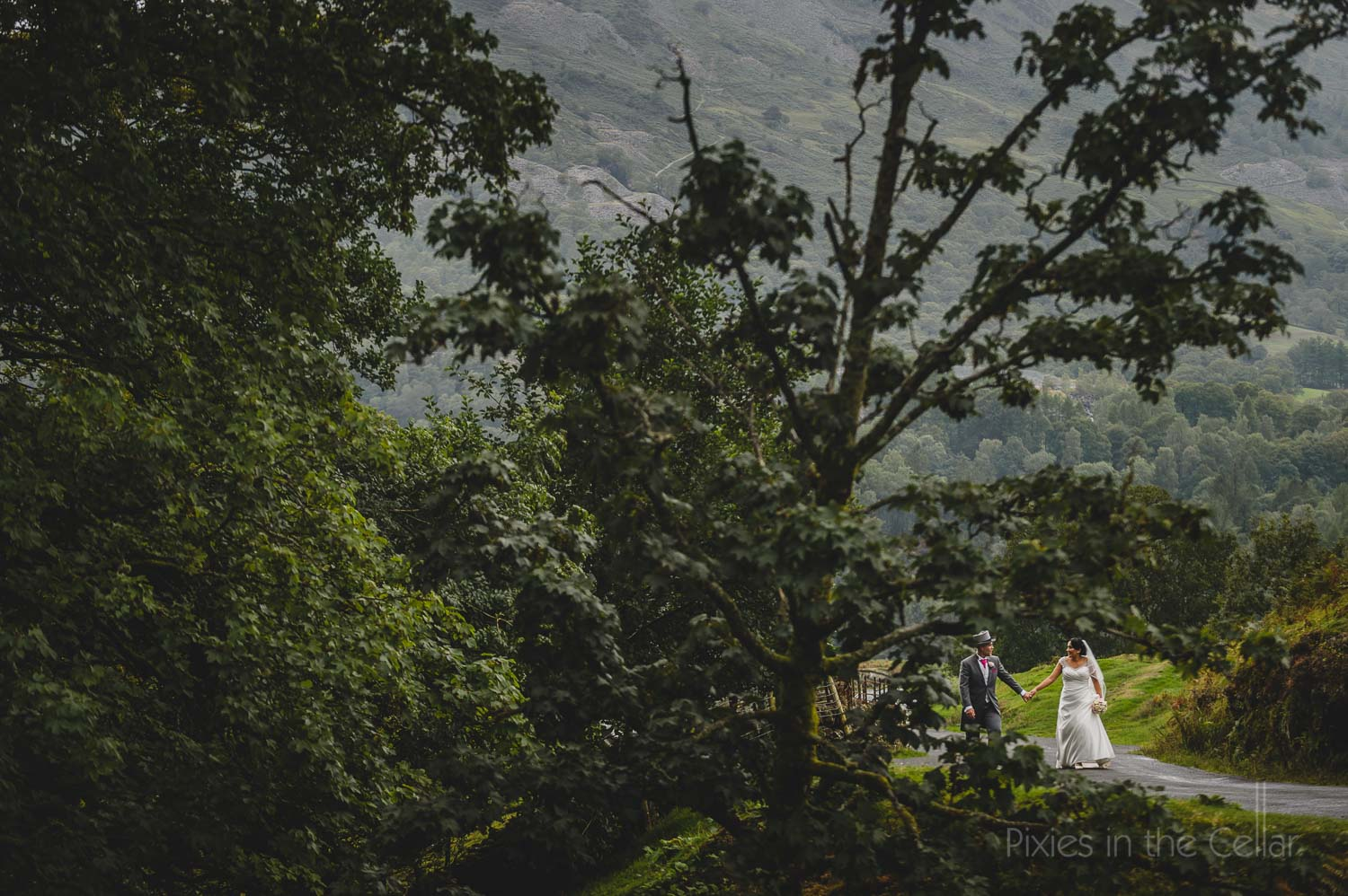Lake District wedding photography natural portraits