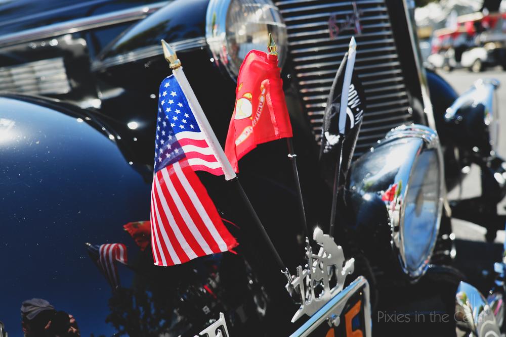 USA road trip, classic car show Ontario LA