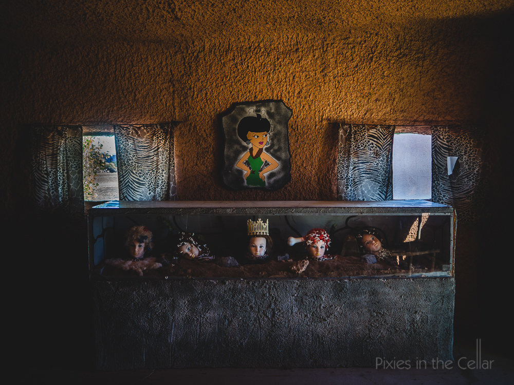 Flintstones spare heads