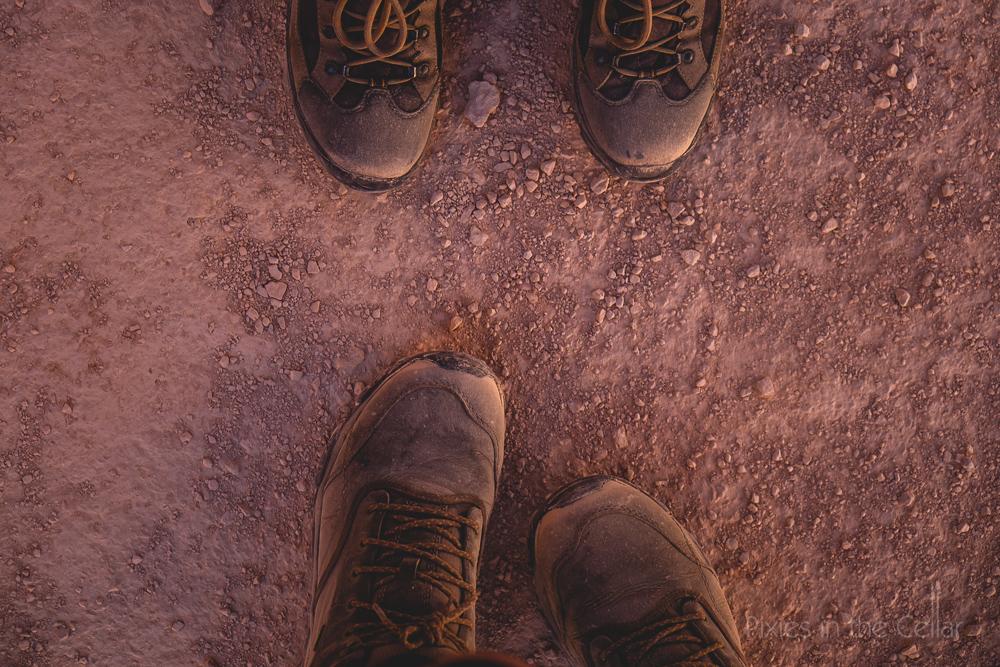 Desert feet boots