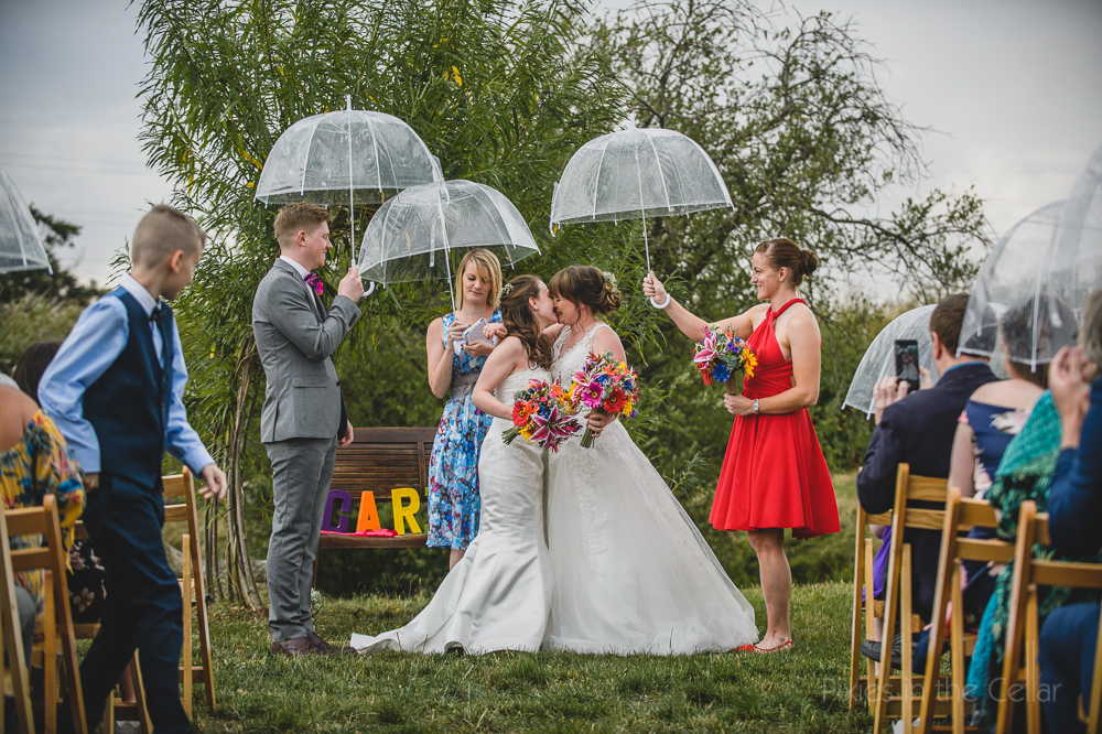 Kings Acre Wedding Photography outdoor ceremony